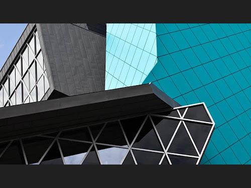 Imagen de fachada ventilada en el Museo Pablo Serrano
