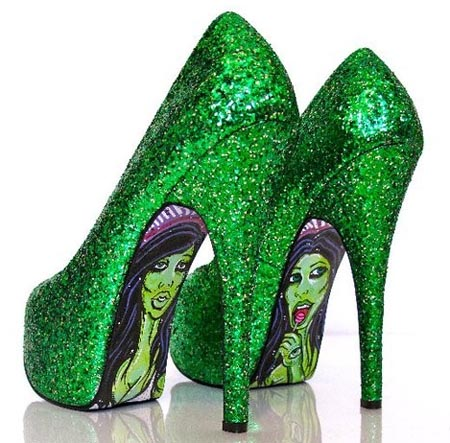 Sapatos Customizados por Taylor Says