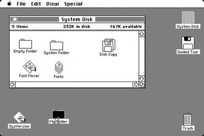Mac OS, première version