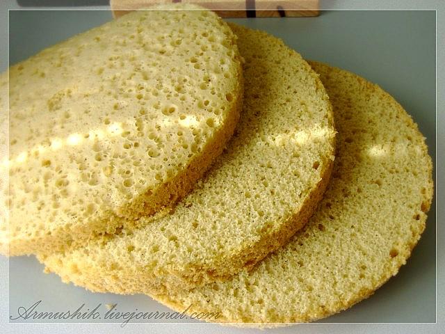 Бисквит на плите без духовки – кулинарный рецепт