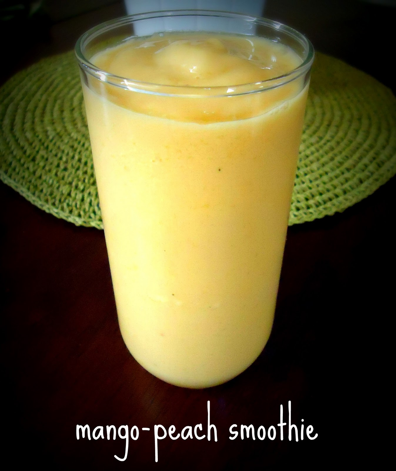 The Perfume Issue: Recipe: Mango-peach smoothie; non-dairy milks