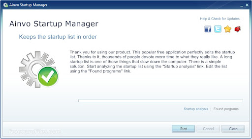 Ainvo Startup Manager 2.3.2.351