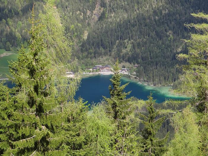 Отель Beslhof, Hintersee и подъём на Blaueishütte.