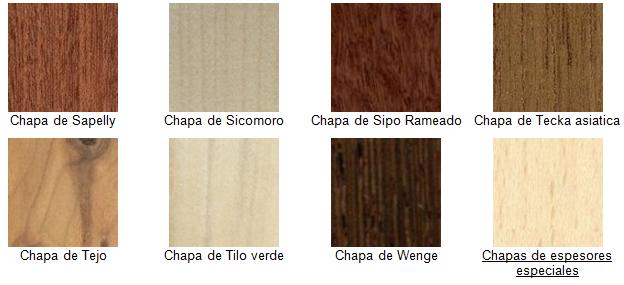Muebles domoticos que son las chapas de madera chapilla - Muebles de chapa ...