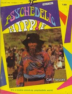 Карл Франзони на обложке малоизвестного журнала 60-х годов