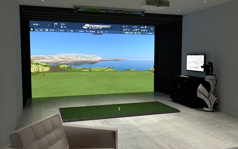 how much is golf simulator