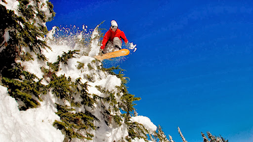 Snowboarding in the Steven's Pass Backcountry, Washington.jpg