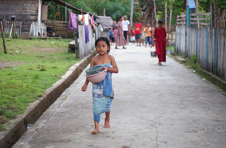 Индонезийская девочка
