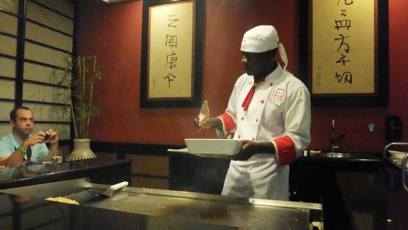 Cocina teppan yaki, Hotel Bahía Príncipe, Punta Cana, R. Dominicana, Elisa N, Blog de Viajes, Lifestyle, Travel
