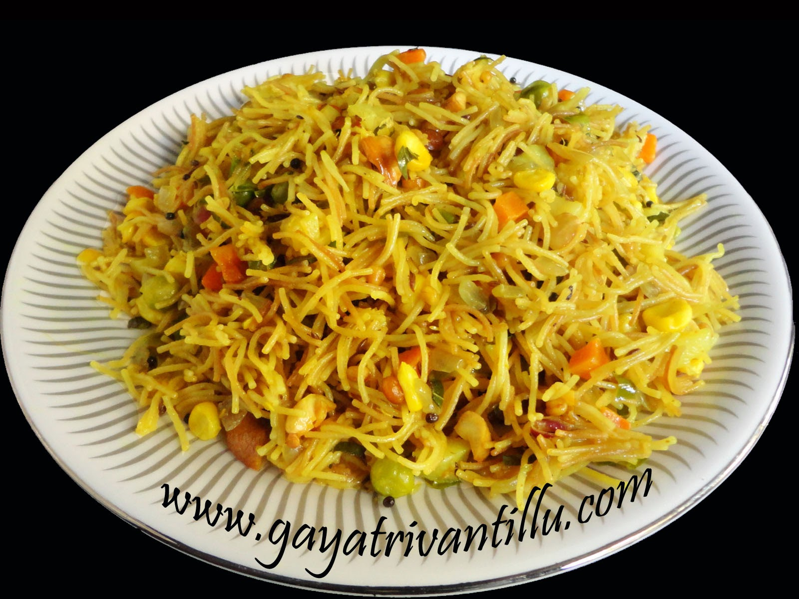 Vegetable semia upma vegetable semia upma andhra recipes telugu vantalu gayatri vantillu forumfinder Choice Image