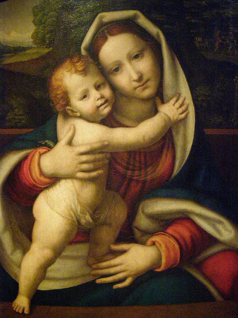 Andrea Solari - Madonna and Child