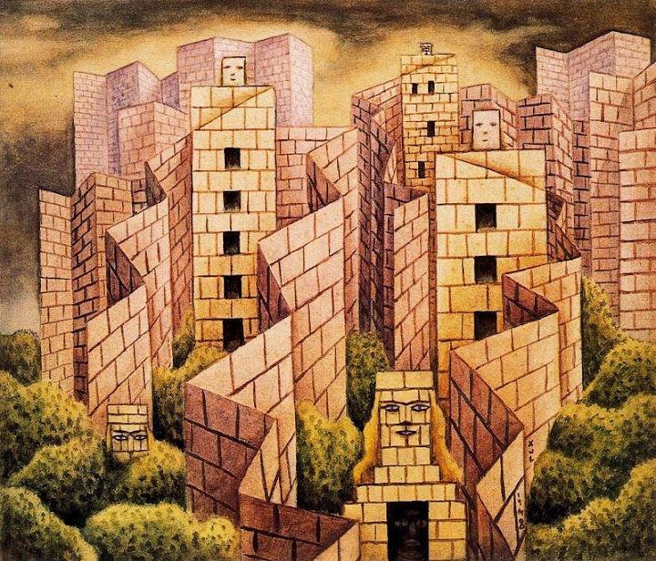 Alejandro Xul Solar - Muros biombos