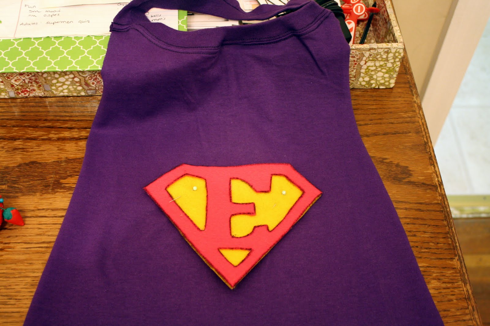 Easy DIY Superhero Cape
