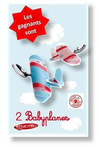 resultat jeu concours babyplane