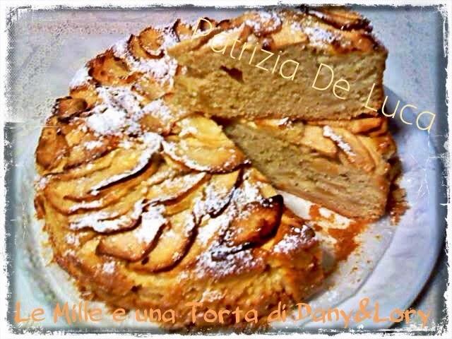 torta di mele light - senza burro