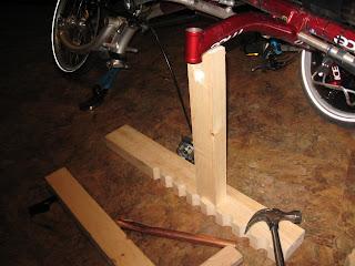 Installation d'une suspension avant sur un ICE Q Img_2684