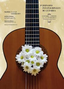Cartel IX Jornadas Internacionales de Guitarra de Valencia
