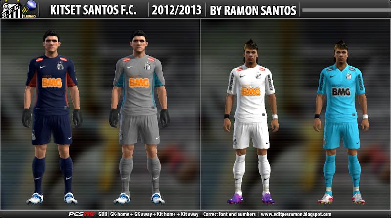 Santos 2012-13 Kitset - PES 2012