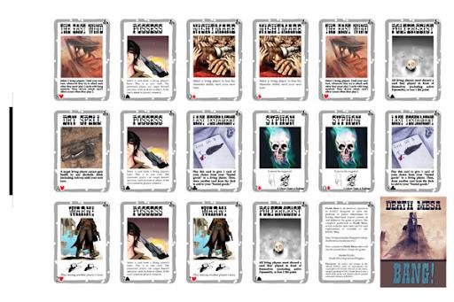 Death Mesa 18 x 12 Cardsheet #3