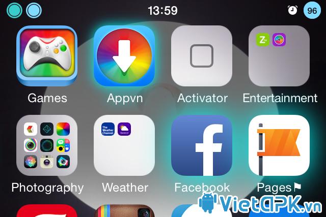 Làm icon phát sáng khi có thông báo trên iPhone