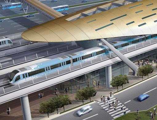 jalur metro sepanjang 74,5 km
