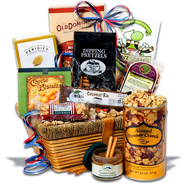 win gourmet gift baskets christmas classic gift basket giveaway