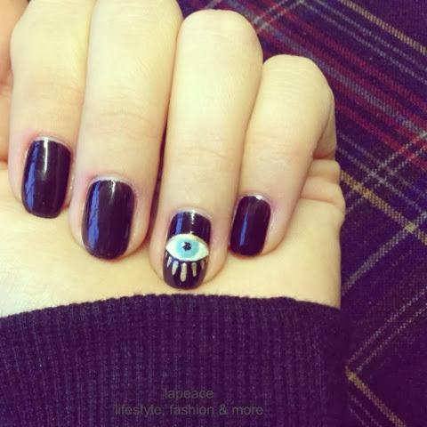 DIY: Kenzo-Eye-Nails