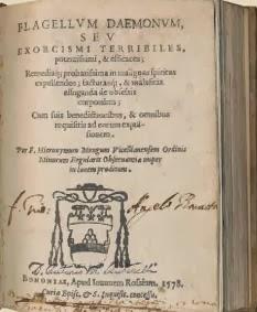 ревние трактаты об обуздании демонических сил (Flagelli), вроде сборников Гиеронима Менга, изданных в 1708 г., но составленных еще в конце XVI века