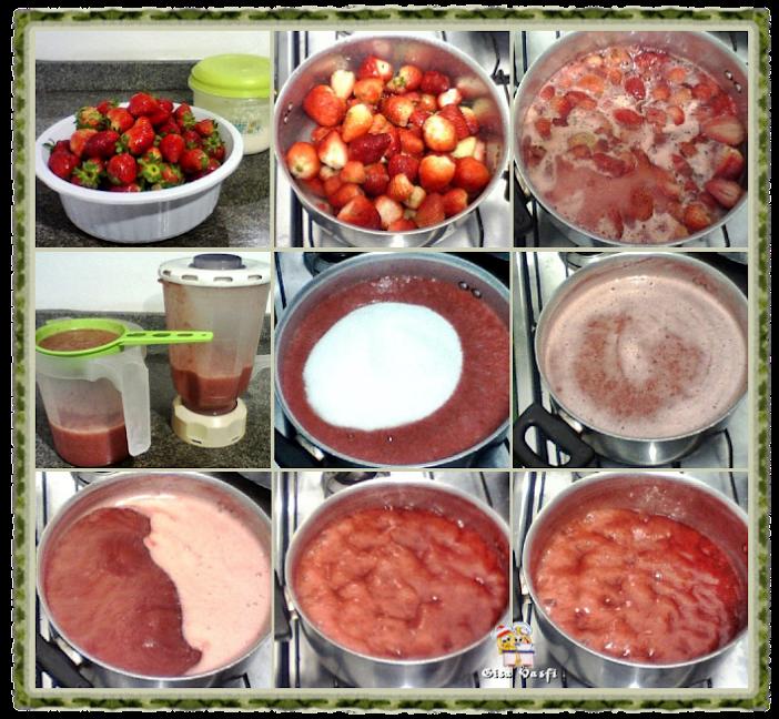 Doces de morango 3