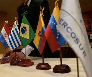 MERCSUR countries show trade imbalances among themselves