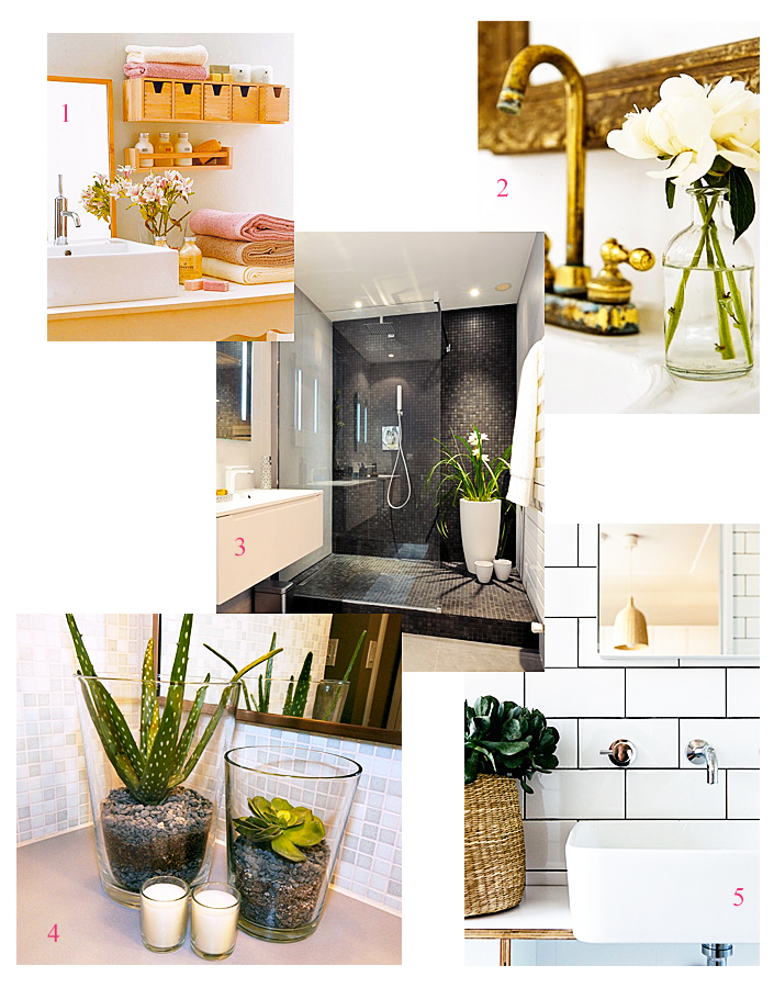 décoration salle de bain, idées déco location, décoration simple et économique, organiser sa salle de bain, aménager son intérieur
