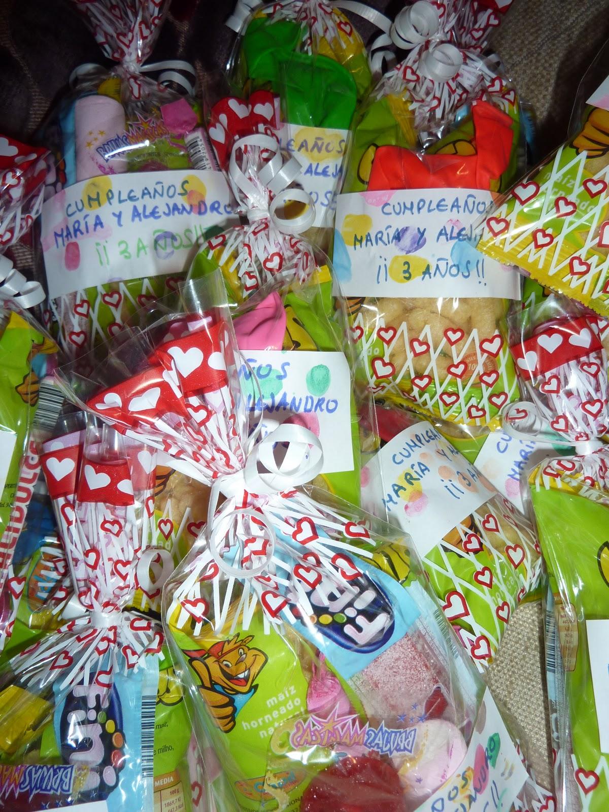 Mis mellizos y yo marzo 2011 - Detalles originales para cumpleanos infantiles ...