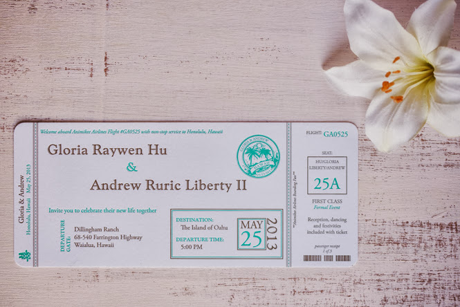 Gloria and Andrew's Letterpress Cards