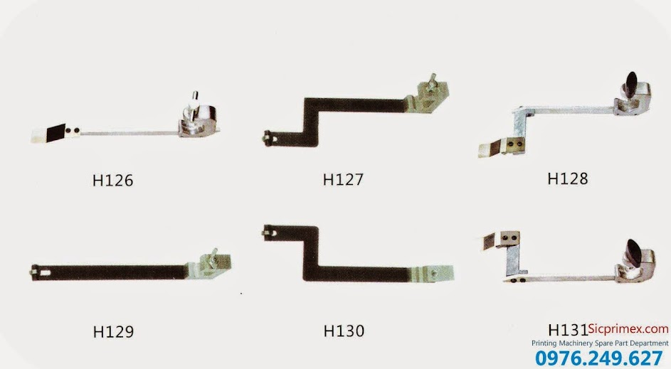 Phụ tùng máy in chính hãng Heidelberg chất lượng cao giá rẻ H126-131