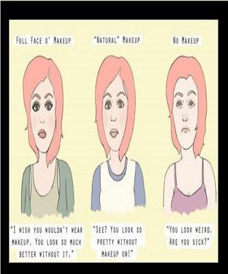 Girl's Makeup Reality
