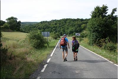 Seguimos la carretera dirección Maeztu