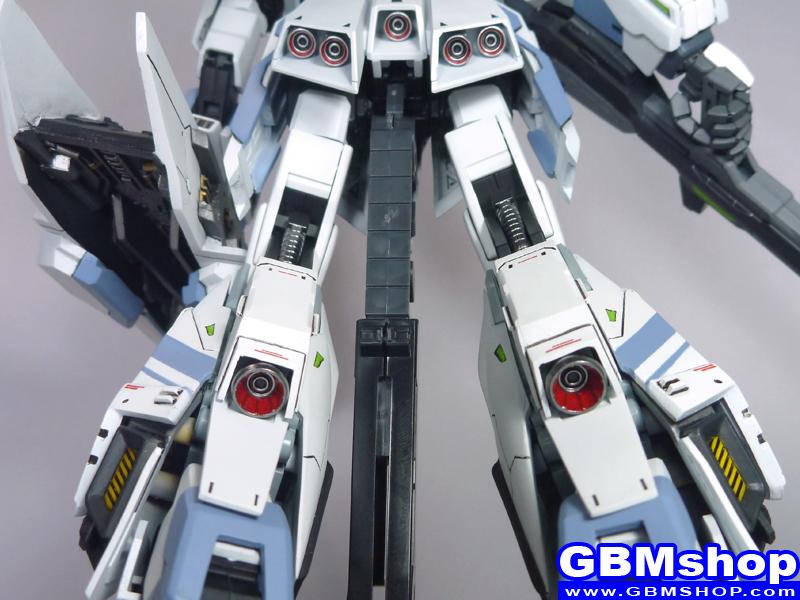 MSZ-006-3 Zeta Gundam Strike Zeta White Unicorn