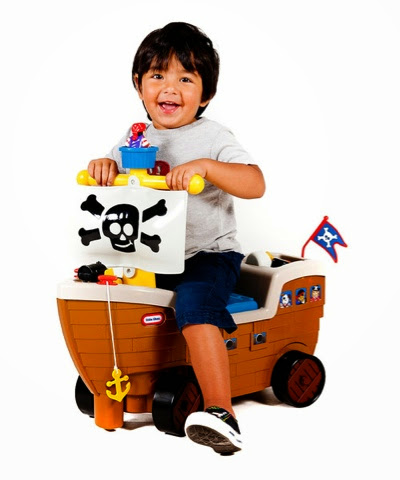 Little Tikes Ride On Pirate Ship