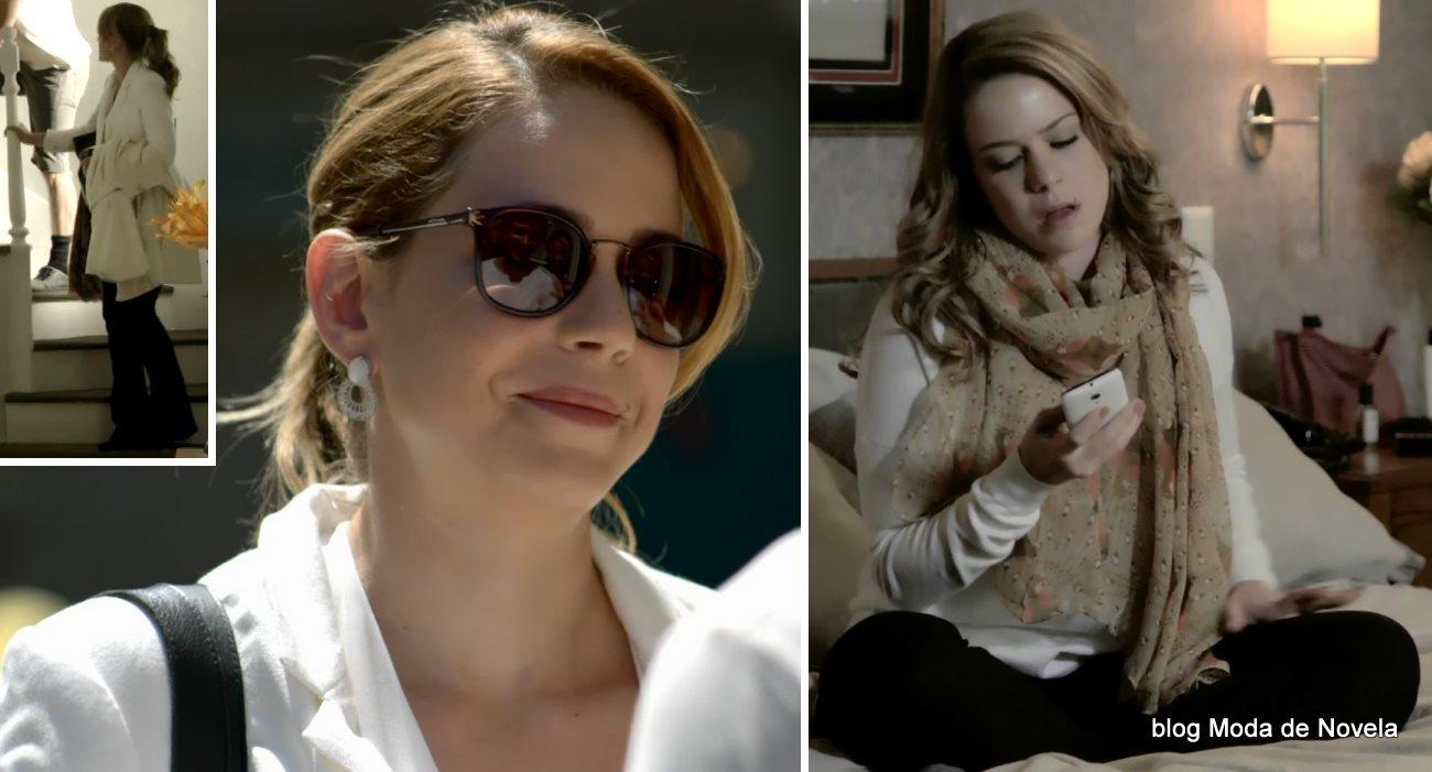 moda da novela Império, look da Cristina dia 16 de janeiro de 2015
