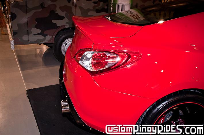 Hyundai Genesis Coupe Body Kit Designs by Atoy Customs 2012 Manila Auto Salon Custom Pinoy Rides pic5