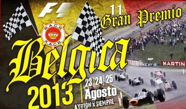 Previo Fórmula 1, GP de Bélgica