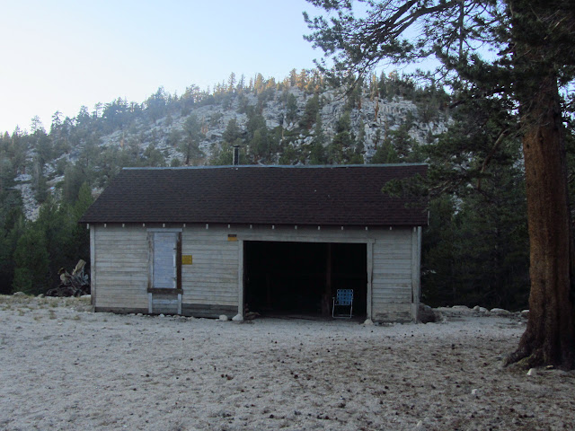 mule barn, now ranger station