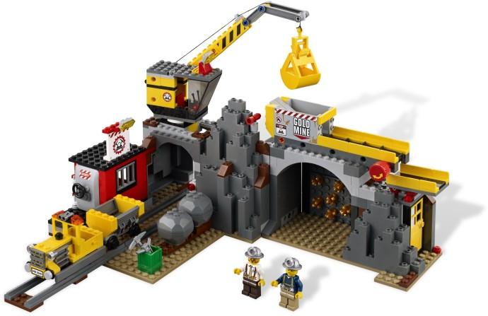 レゴ シティ ゴールドマイナー ゴールドマイナーベース 4204