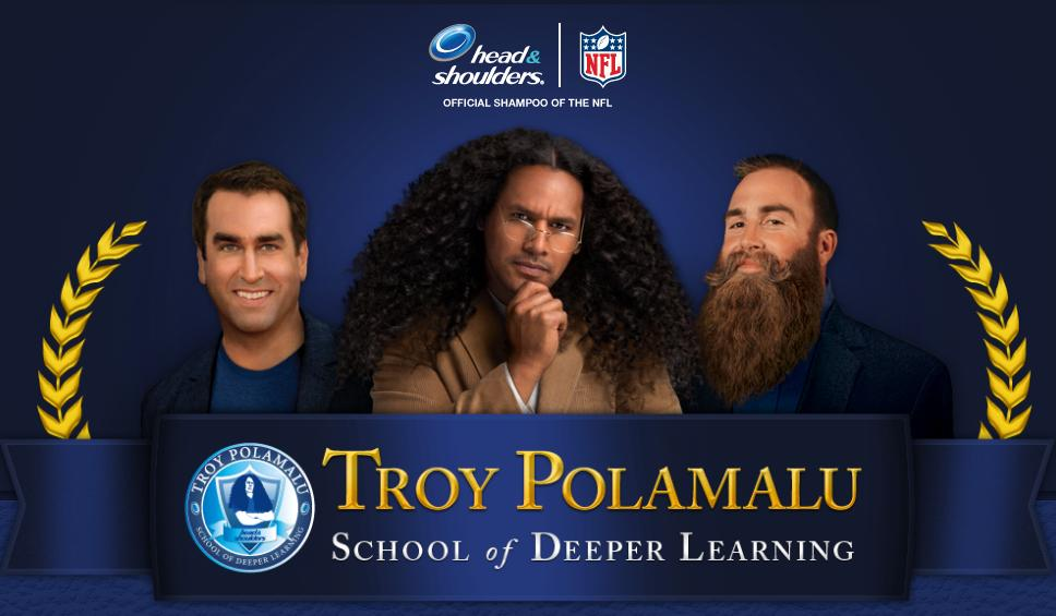 Troy Polamalu Shines In At The School of Deeper Learning