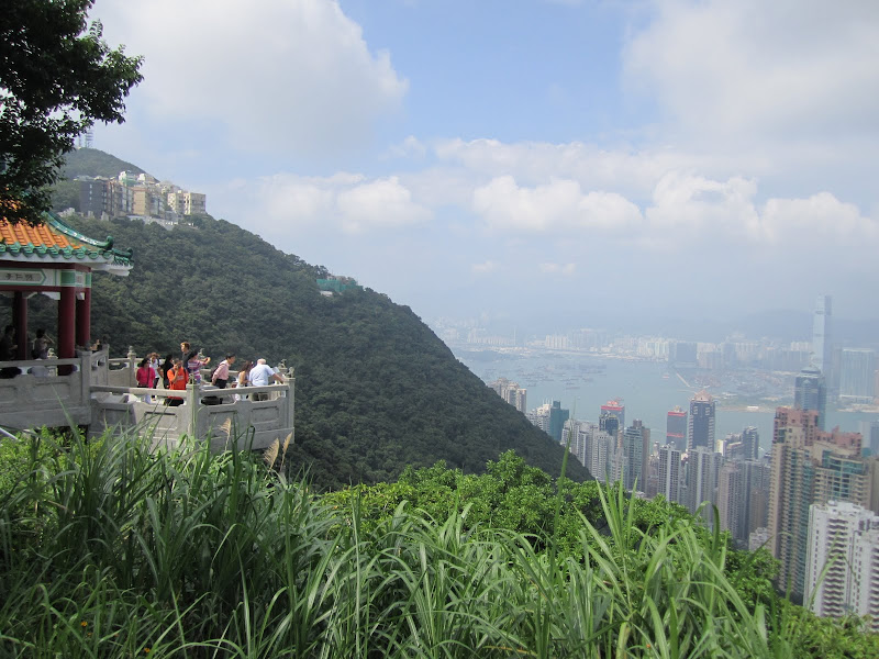 View deck at Victoria Peak in Hong Kong
