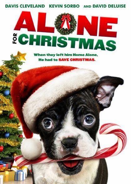 Poster Of English Movie Alone for Christmas (2013) Free Download Full New Hollywood Movie Watch Online At Alldownloads4u.Com
