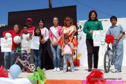 Evento Muévete en Familia de la Presidencia Municipal de Sabinas Hidalgo