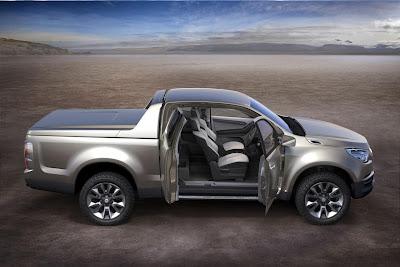 Chevrolet Colorado Concept (2011) Side 2