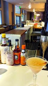 Barlow Artisanal Bar Cocktail, the Sidecar Au Poire with brandy, lemon, pear liqueur