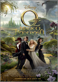Capa do Oz: Mágico e Poderoso   AVI (2013)filmes